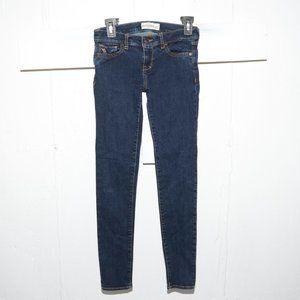 Abercrombie skinny girls jeans size 14